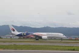 hachiさんが、関西国際空港で撮影したマレーシア航空 A350-941の航空フォト(飛行機 写真・画像)