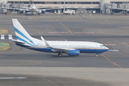 サリーちゃんのパパさんが、羽田空港で撮影したラスベガス サンズ 737-74U BBJの航空フォト(飛行機 写真・画像)