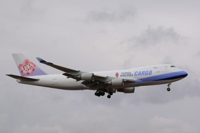 inyoさんが、成田国際空港で撮影したチャイナエアライン 747-409F/SCDの航空フォト(飛行機 写真・画像)