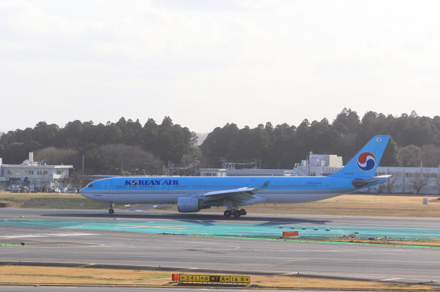 inyoさんが、成田国際空港で撮影した大韓航空 A330-322の航空フォト(飛行機 写真・画像)