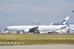 LEGACY-747さんが、成田国際空港で撮影したキャセイパシフィック航空 777-367の航空フォト(飛行機 写真・画像)