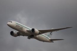 赤ちんさんが、成田国際空港で撮影したZIPAIR 787-8 Dreamlinerの航空フォト(飛行機 写真・画像)