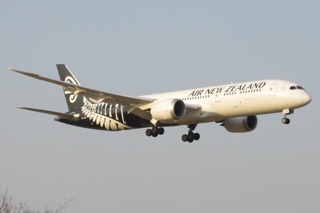 BOEING737MAX-8さんが、成田国際空港で撮影したニュージーランド航空 787-9の航空フォト(飛行機 写真・画像)
