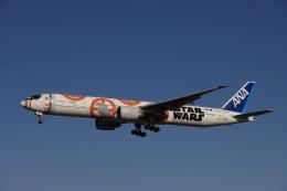 Hi.KOKIさんが、成田国際空港で撮影した全日空 777-381/ERの航空フォト(飛行機 写真・画像)