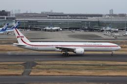 いんちゃんさんが、羽田空港で撮影したガルーダ・インドネシア航空 777-3U3/ERの航空フォト(飛行機 写真・画像)