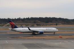 ☆ライダーさんが、成田国際空港で撮影したデルタ航空 767-324/ERの航空フォト(飛行機 写真・画像)