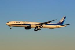 ☆ライダーさんが、成田国際空港で撮影した全日空 777-381/ERの航空フォト(飛行機 写真・画像)