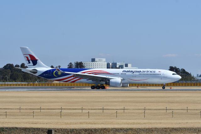 ポン太さんが、成田国際空港で撮影したマレーシア航空 A330-323Xの航空フォト(飛行機 写真・画像)