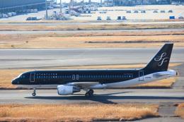 かっちゃん✈︎さんが、羽田空港で撮影したスターフライヤー A320-214の航空フォト(飛行機 写真・画像)