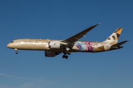 xingyeさんが、成田国際空港で撮影したエティハド航空 787-9の航空フォト(飛行機 写真・画像)