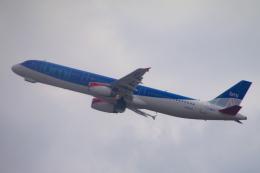 yabyanさんが、ロンドン・ヒースロー空港で撮影したbmi A321-231の航空フォト(飛行機 写真・画像)