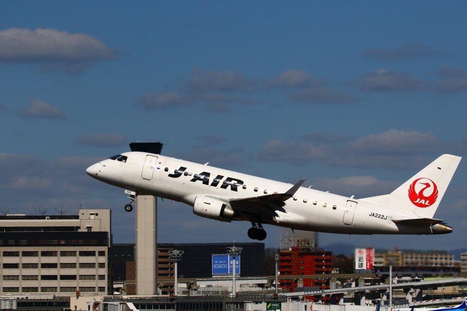 khideさんのジェイエア Embraer 170 (JA222J) 航空フォト