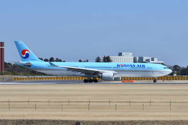ポン太さんが、成田国際空港で撮影した大韓航空 A330-323Xの航空フォト(飛行機 写真・画像)