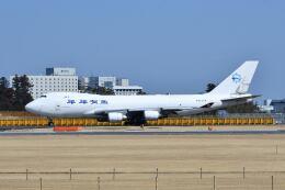 ポン太さんが、成田国際空港で撮影したスカイ・リース・カーゴ 747-428F/ER/SCDの航空フォト(飛行機 写真・画像)