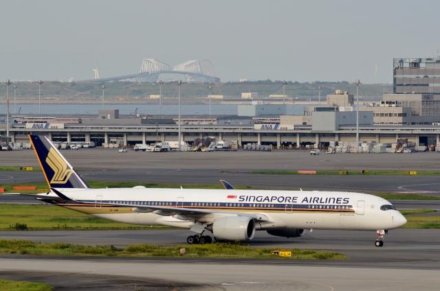 h_wajyaさんが、羽田空港で撮影したシンガポール航空 A350-941の航空フォト(飛行機 写真・画像)