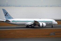 こみけさんが、中部国際空港で撮影したZIPAIR 787-8 Dreamlinerの航空フォト(飛行機 写真・画像)