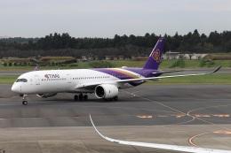 kan787allさんが、成田国際空港で撮影したタイ国際航空 A350-941の航空フォト(飛行機 写真・画像)
