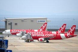 こみけさんが、中部国際空港で撮影したエアアジア・ジャパン A320-216の航空フォト(飛行機 写真・画像)