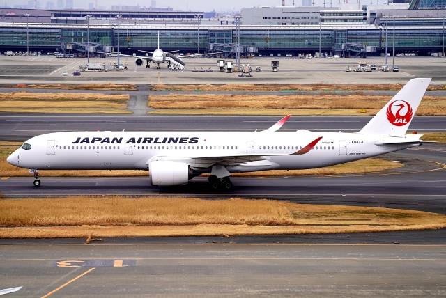 SFJ_capさんが、羽田空港で撮影した日本航空 A350-941の航空フォト(飛行機 写真・画像)