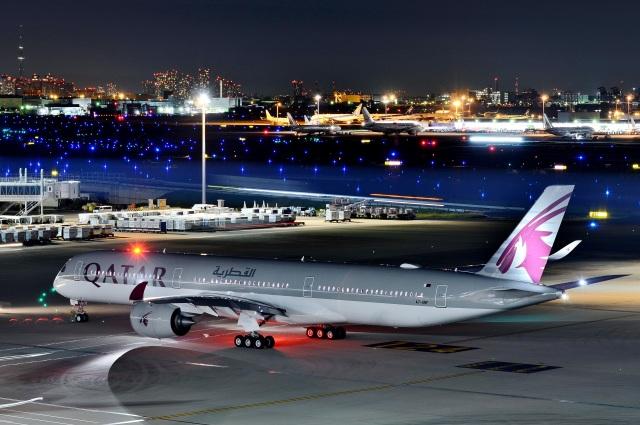 h_wajyaさんが、羽田空港で撮影したカタール航空 A350-1041の航空フォト(飛行機 写真・画像)