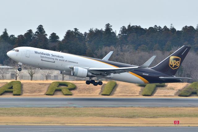 フリューゲルさんが、成田国際空港で撮影したUPS航空 767-34AF/ERの航空フォト(飛行機 写真・画像)