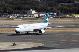 kan787allさんが、福岡空港で撮影したキャセイパシフィック航空 A330-343Xの航空フォト(飛行機 写真・画像)