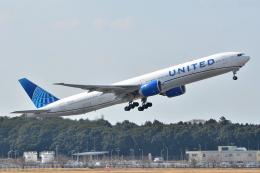 フリューゲルさんが、成田国際空港で撮影したユナイテッド航空 777-322/ERの航空フォト(飛行機 写真・画像)