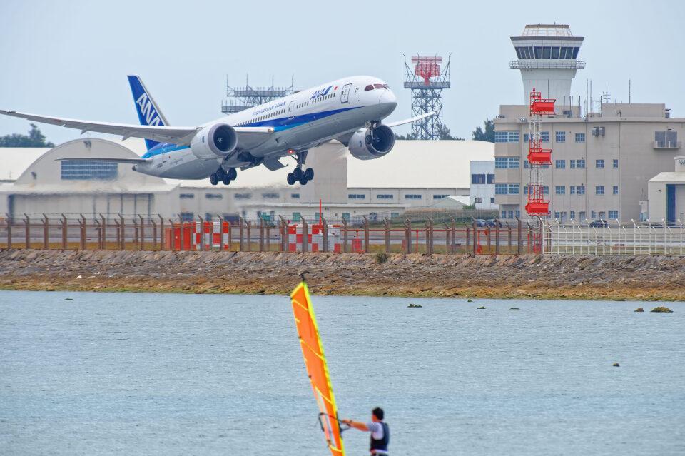 監督さんの全日空 Boeing 787-9 (JA830A) 航空フォト