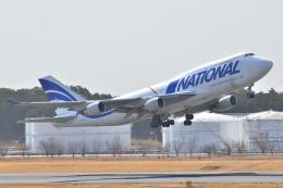 フリューゲルさんが、成田国際空港で撮影したナショナル・エアラインズ 747-412(BCF)の航空フォト(飛行機 写真・画像)