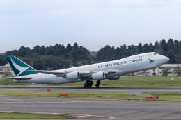 Y-Kenzoさんが、成田国際空港で撮影したキャセイパシフィック航空 747-867F/SCDの航空フォト(飛行機 写真・画像)