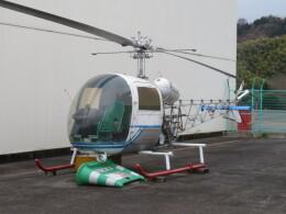 ランチパッドさんが、静岡ヘリポートで撮影した中日本航空 Bell 47G3B-KH4の航空フォト(飛行機 写真・画像)