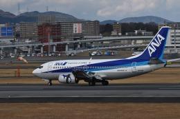 we love kixさんが、伊丹空港で撮影したANAウイングス 737-54Kの航空フォト(飛行機 写真・画像)