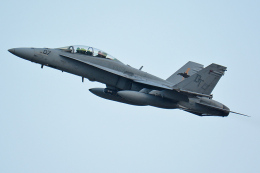Tomo-Papaさんが、厚木飛行場で撮影したアメリカ海兵隊 F/A-18D Hornetの航空フォト(飛行機 写真・画像)
