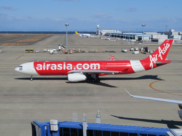 F.YUKIHIDEさんが、中部国際空港で撮影したタイ・エアアジア・エックス A330-343Xの航空フォト(飛行機 写真・画像)