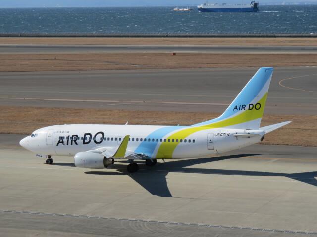 F.YUKIHIDEさんが、中部国際空港で撮影したAIR DO 737-781の航空フォト(飛行機 写真・画像)