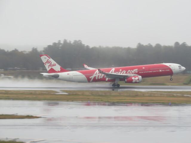 F.YUKIHIDEさんが、成田国際空港で撮影したタイ・エアアジア・エックス A330-343Xの航空フォト(飛行機 写真・画像)