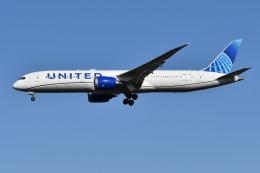 Deepさんが、成田国際空港で撮影したユナイテッド航空 787-9の航空フォト(飛行機 写真・画像)