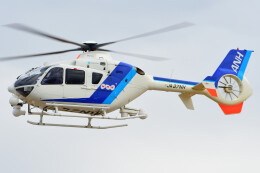 ほてるやんきーさんが、名古屋飛行場で撮影したオールニッポンヘリコプター EC135T2の航空フォト(飛行機 写真・画像)