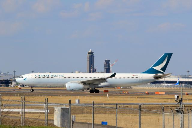 inyoさんが、成田国際空港で撮影したキャセイパシフィック航空 A330-343Xの航空フォト(飛行機 写真・画像)