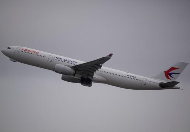 takikoki50000さんが、関西国際空港で撮影した中国東方航空 A330-343Xの航空フォト(飛行機 写真・画像)