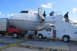 Hiro-hiroさんが、プリンセス・ジュリアナ国際空港で撮影したユナイテッド航空 737-724の航空フォト(飛行機 写真・画像)