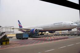 yabyanさんが、タンソンニャット国際空港で撮影したアエロフロート・ロシア航空 777-3M0/ERの航空フォト(飛行機 写真・画像)