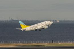 ゆーすきんさんが、羽田空港で撮影したAIR DO 737-54Kの航空フォト(飛行機 写真・画像)
