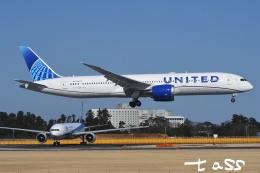 tassさんが、成田国際空港で撮影したユナイテッド航空 787-9の航空フォト(飛行機 写真・画像)