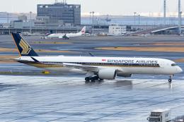 KoshiTomoさんが、羽田空港で撮影したシンガポール航空 A350-941の航空フォト(飛行機 写真・画像)