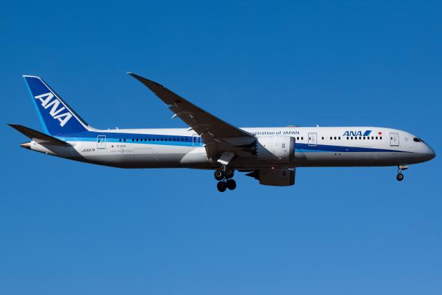 KoshiTomoさんが、成田国際空港で撮影した全日空 787-9の航空フォト(飛行機 写真・画像)