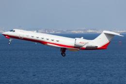 KoshiTomoさんが、羽田空港で撮影したSBMA SERVICES LLC G-V-SP Gulfstream G550の航空フォト(飛行機 写真・画像)