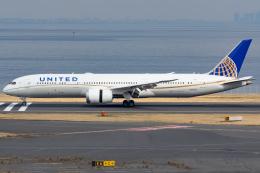 KoshiTomoさんが、羽田空港で撮影したユナイテッド航空 787-9の航空フォト(飛行機 写真・画像)