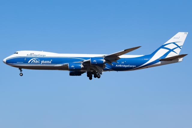 航空フォト:VQ-BFE エアブリッジ・カーゴ・エアラインズ 747-8