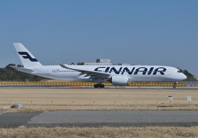 雲霧さんが、成田国際空港で撮影したフィンエアー A350-941の航空フォト(飛行機 写真・画像)